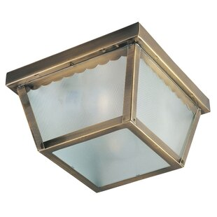 Best Deals Pauline 1-Light Flush Mount By Charlton Home
