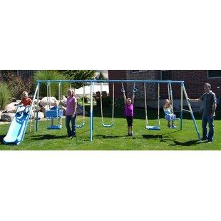 Propel Trampolines Swing Pro 9-Play Swing Set