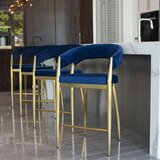 Ricciardi 26 Bar Stool by Everly Quinn