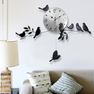 Rivau Bird Wall Clock