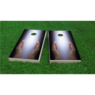 Custom Cornhole Boards Worshiping The Divine Cornhole Game Set