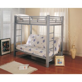 Arevalo Twin Futon Bunk Bed