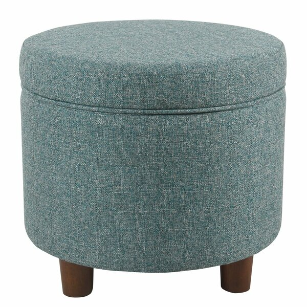 Groovy Round Ottoman On Wheels Wayfair Ncnpc Chair Design For Home Ncnpcorg