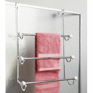 Best Reviews York 17.7 over-the-Door Towel Bar ByInterDesign