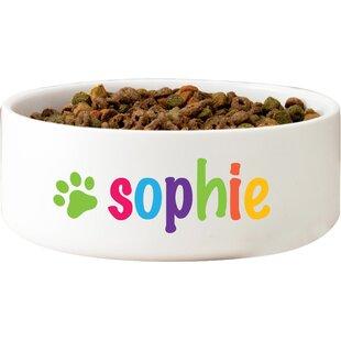 Appleby Personalized Dog Bowl