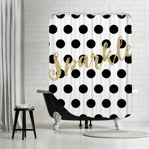 Black U0026 White Shower Curtain