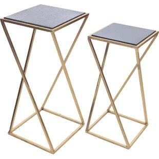 Aubrey 2 Piece Nesting Tables by Hip Vintage