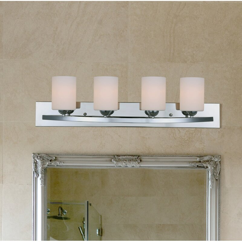 Ebern Designs Custer 4-Light Vanity Light