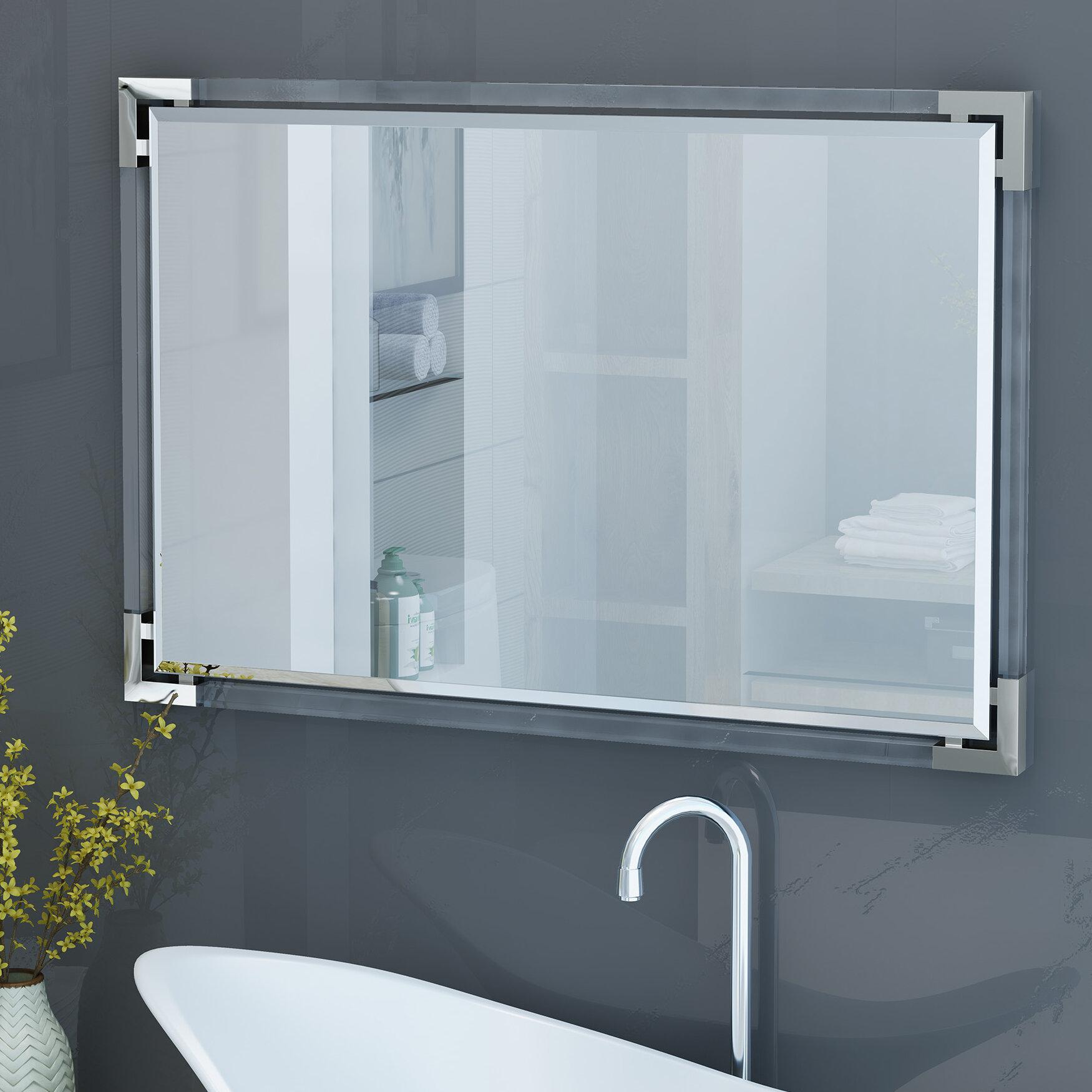 Ebern Designs Encarnacion Wall Bathroom/Vanity Mirror | Wayfair