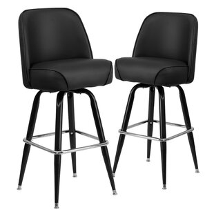 Kirk Metal 30 Swivel Bar Stool (Set of 2)