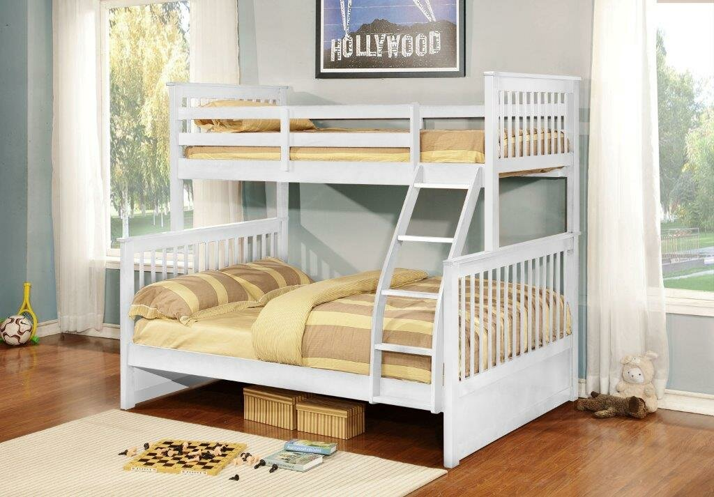 InRoom Designs Twin Over Full L Shaped Bunk Bed & Reviews