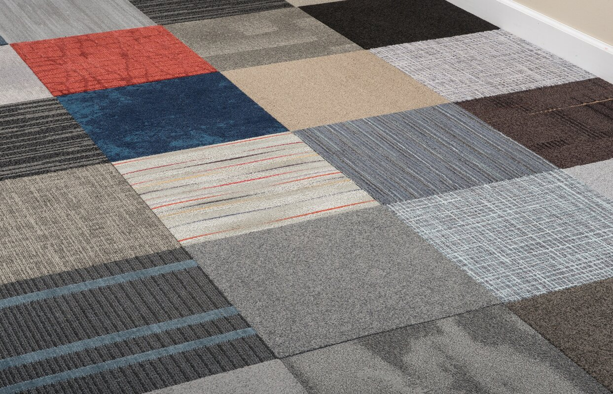 Nance industries 20 x 20 carpet tile in assorted reviews wayfair 20 x 20 carpet tile in assorted dailygadgetfo Choice Image