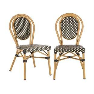 Montpellier Stacking Garden Chair (Set Of 2) By Blumfeldt