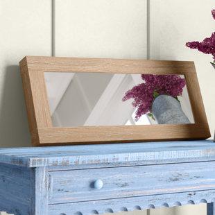 Ryanda Rectangular Wood Framed Wall Mirror byGracie Oaks