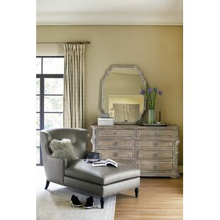 Campania 8 Drawer Double Dresser with Mirror