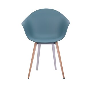 Marlys Slice Natural Trims Dining Chair Ivy Bronx