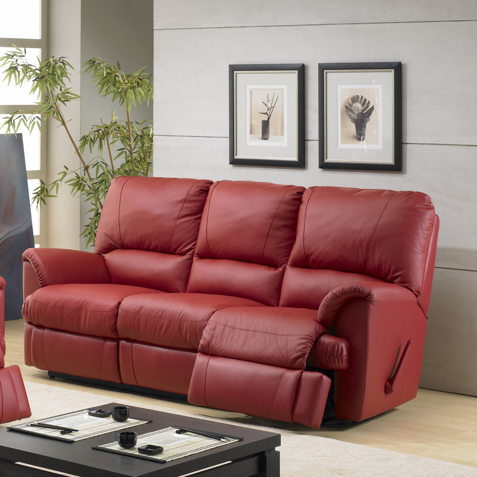 Relaxon Mylaine Leather Reclining Sofa