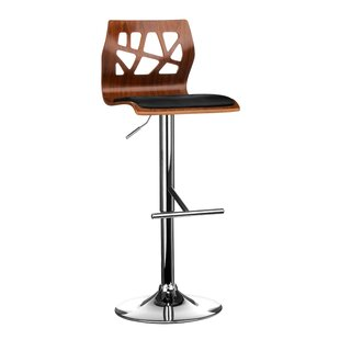 Cambria Height Adjustable Bar Stool By 17 Stories