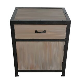 Industrial End Table by Screen Gems