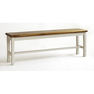 Taraval Wooden Kitchen Bench By August Grove