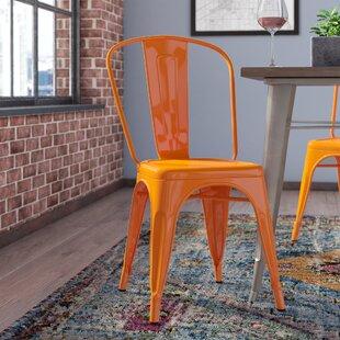 Halie Steel Side Chair (Set of 4) by Tren..