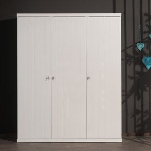 Aponte 3 Door Wardrobe By Harriet Bee