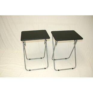 Deals Folding TV Tray (Set of 2) ByeHemco