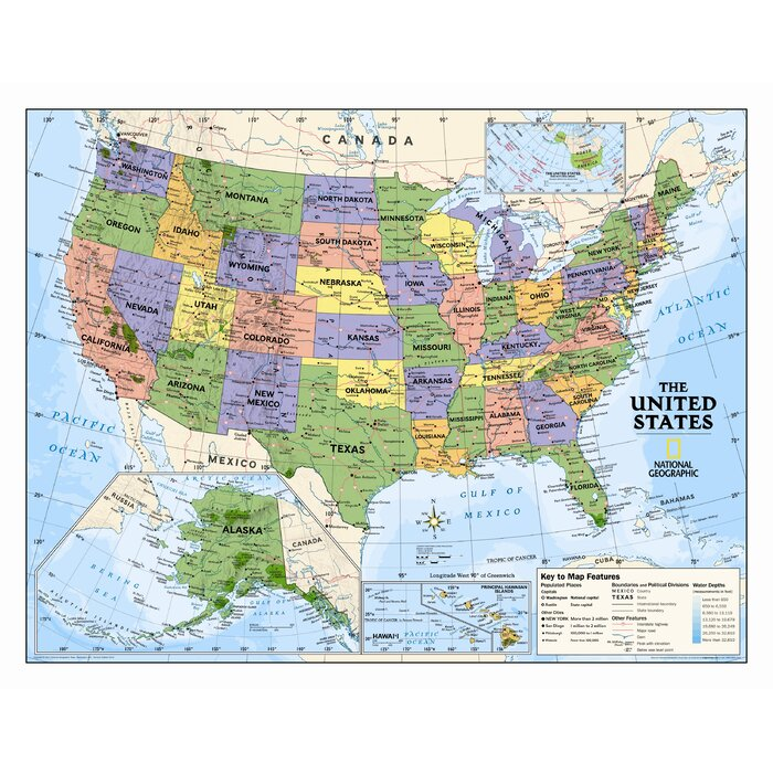 Kids Political USA Wall Map (Grades 4-12) on geographical map of the us, geological map of the us, electoral map of the us, religious map of the us, social map of the us, commodities map of the us, demographic map of the us, diplomatic map of the us, national map of the us, military map of the us, logistical map of the us, political map of the us, economic map of the us, racial map of the us, cultural map of the us, environmental map of the us, language map of the us, ecological map of the us, environment map of the us, geologic map of the us,