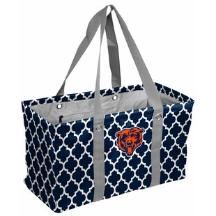 Quatrefoil Caddy Picnic Tote Bag