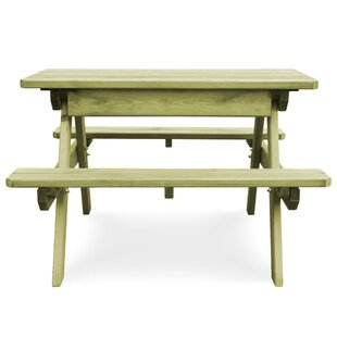Burke Wooden Picnic Bench By Sol 72 Outdoor