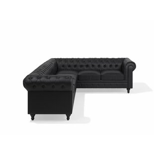 Adaline Chesterfield Corner Sofa By Three Posts