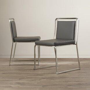 Loftis Upholstered Dining Chair (Set of 2) by Brayden Studio