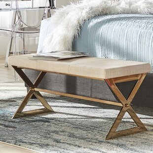 Buy clear Arvid Wood Bench By Willa Arlo Interiors