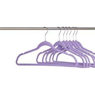Leech Basics Velvet Non-Slip Hanger (Set of 50)