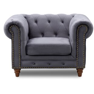 Arnone Chesterfield Chair by Darby Home Co