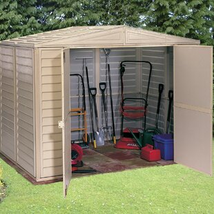 8 Ft. W X 6 Ft. D Apex Plastic Shed By WFX Utility