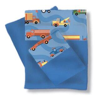 Boys Like Trucks Sheets / Pillowcase Set