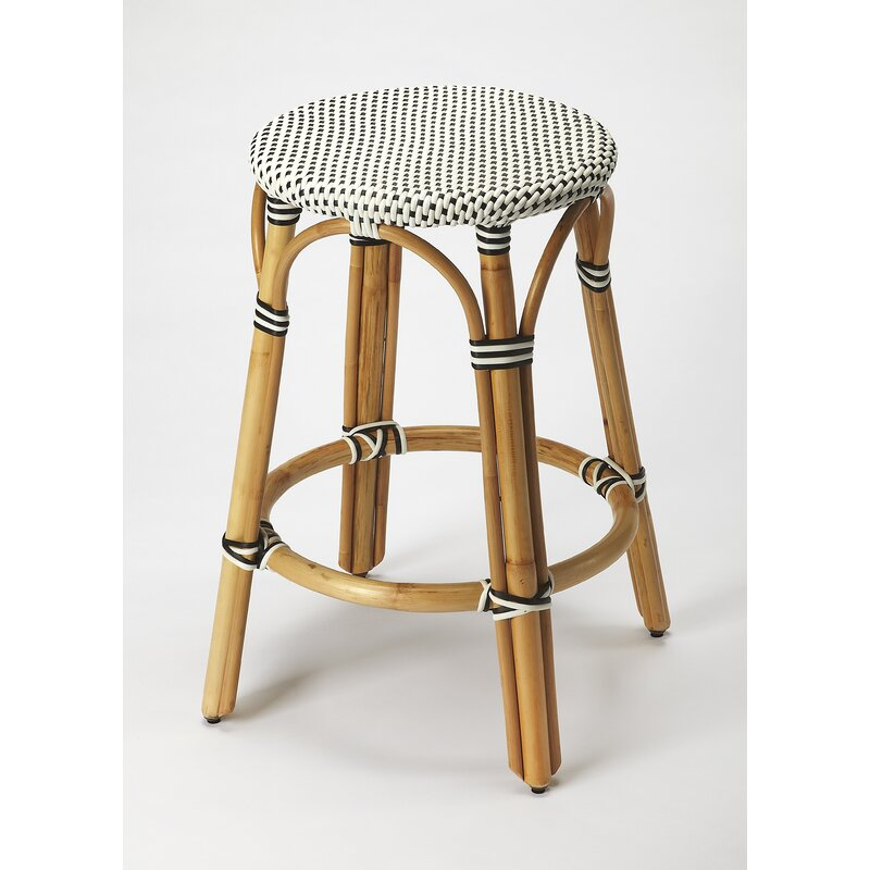 "Campbellton County Coastal 24"" Bar Stool"