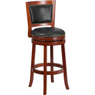 Jenkin 31'' Swivel Bar Stool Charlton Home