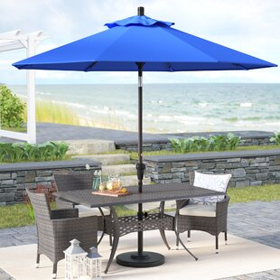 Mullaney 9' Market Sunbrella Umbrella by Beachcrest Home
