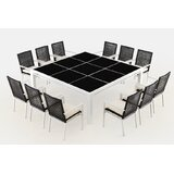 Sitz 13 Piece Dining Set with Cushions