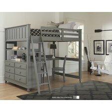 Jaime Lake House 3 Piece Loft Bed Set by Viv + Rae