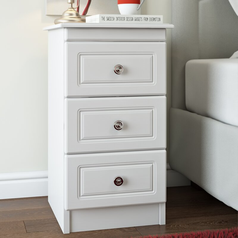 home cabinets web buy product r normandy white chest of drawers bedside drawer