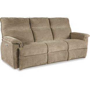 Jay La-Z-Time� Power-Recline with Power Headrest Full Reclining Sofa by La-Z-Boy