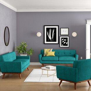 Excellent Saginaw 3 Piece Living Room Set Short Links Chair Design For Home Short Linksinfo
