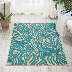 Gerdes Blue Indoor/Outdoor Area Rug