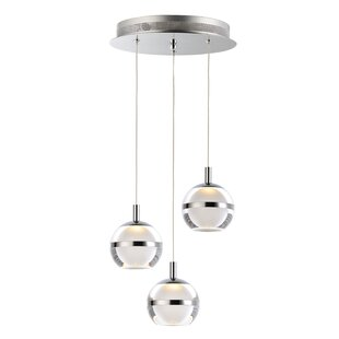 Senters 3-Light LED Pendant by Orren Ellis