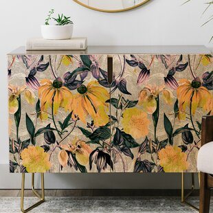 Marta Barragan Camarasa Blooms Credenza East Urban Home