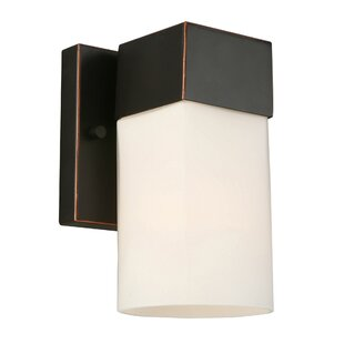 Lanclos 1-Light Armed Sconce by Latitude Run