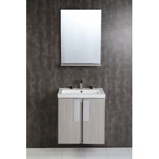24 Single Bathroom Vanity Set by Bellaterra Home